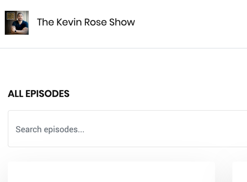 Image showing Episode Search